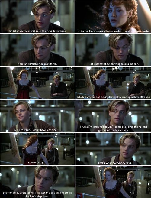 you jump i jump movie love pinterest titanic