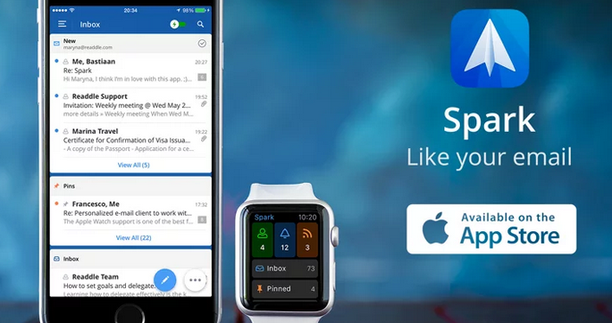 Spark from Readdle Perfecting email on your iPhone and