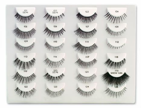 4bf044f4593 Ardell Lashes ( my favorite lashes) #116 for a full natural look, #111 for  a sultry smoky look, #119 for the big bang factor....some you can trim and  layer ...