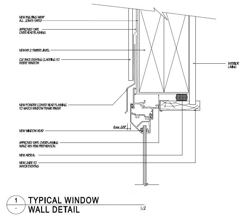 Window 808 729 window detail pinterest for Bow window construction detail