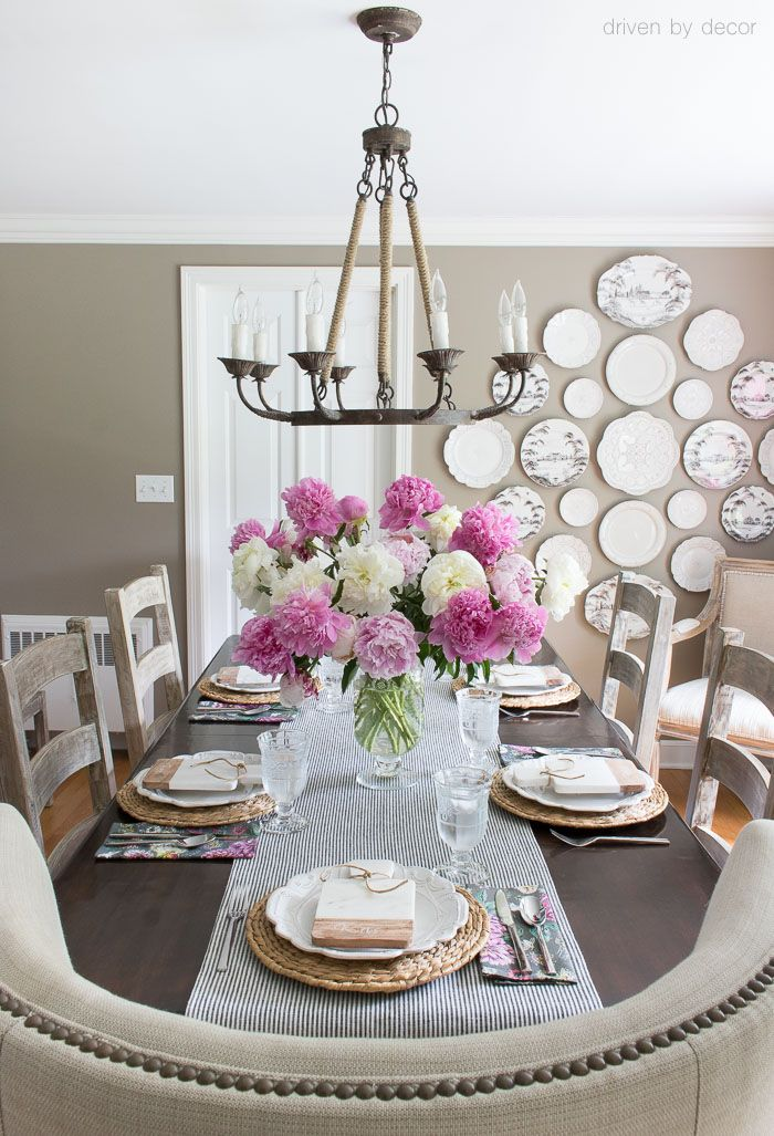 How High To Hang Your Chandelier Over The Table And How Wide Of A Chandelier You Should Buy Such Driven By Decor Neutral Dining Room Easter Table Decorations