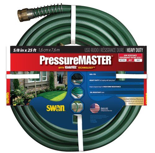 Swan Sn7958025 Pressure Master Premium Heavy Duty 58inch X 25foot Green Garden Hose Read More Reviews Of The Product By Visiting Th With Images Garden Hose Hose Master
