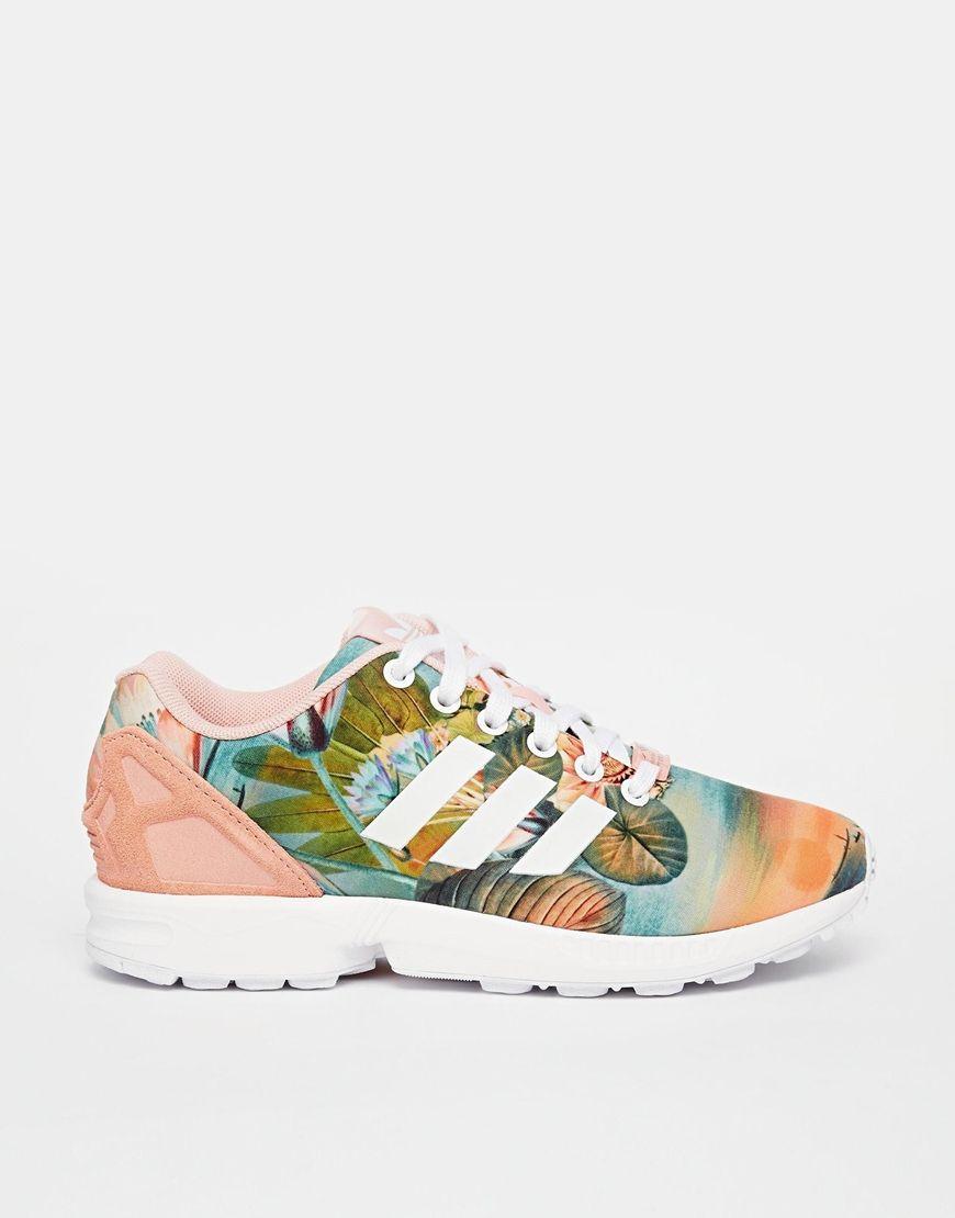 adidas zx flux peach