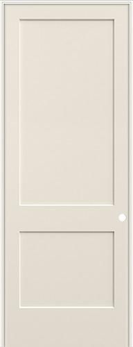 8 0 2 Panel Flat Smooth Molded Interior Prehung Door Unit 1 In 2020 Prehung Doors Doors Interior Cheap Interior Doors