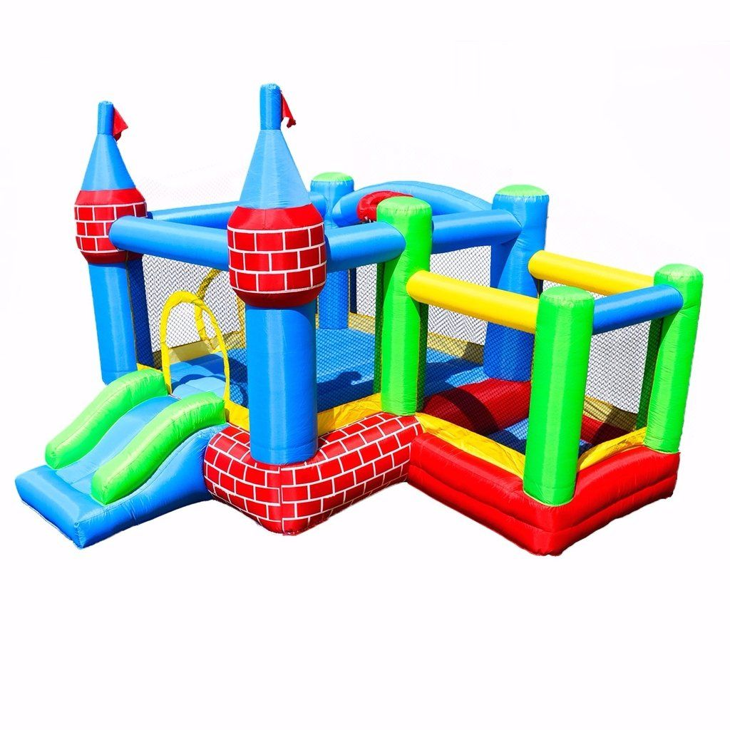 Castelo pula pula com piscina de bolinhas festas for Piscina de bolas minibe