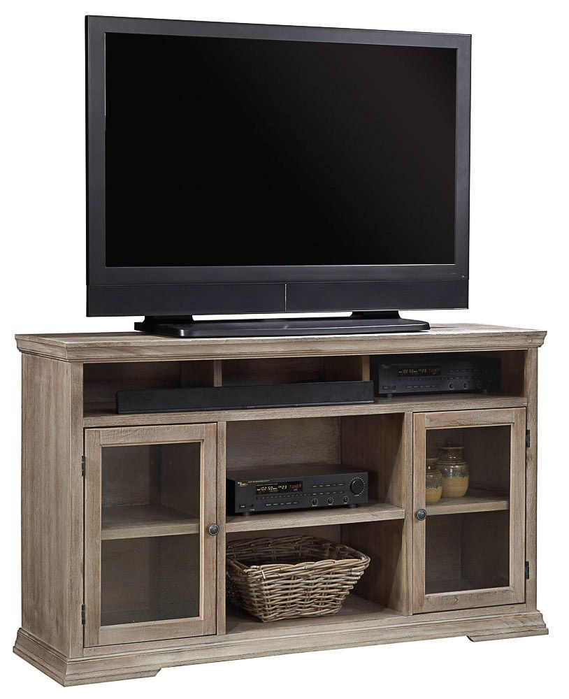 Aspenhome Canyon Creek TV Console with Glass Doors