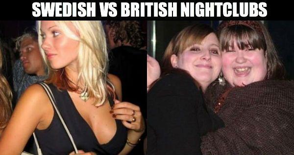 England vs Sweden Nightclubs - Gallery | eBaums World