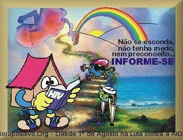 Direitos dos soropositivos no Brasil - http://soropositivo.org/direitos-dos-soropositivos-no-brasil.html - Direitos dos soropositivos costumam ser violados a todo instante no Brasil sem, ao menos, que o portador de HIV saiba disso. Abaixo, alguns destes direitos. Pela Constituição brasileira, os portadores do HIV, assim como todo e qualquer cidadão brasileiro, têm obrigações e direitos garantidos. Entre eles: dignidade humana Compartilhe isso:DiggEmailFacebookLinkedInTw