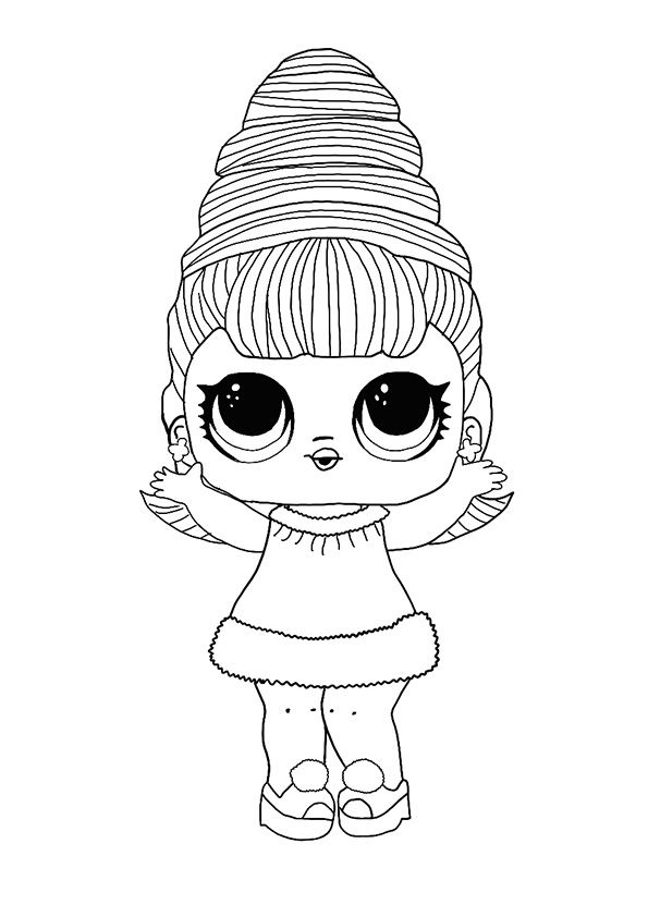 LOL Hairvibes Supreme Queen coloring page (2020 ...