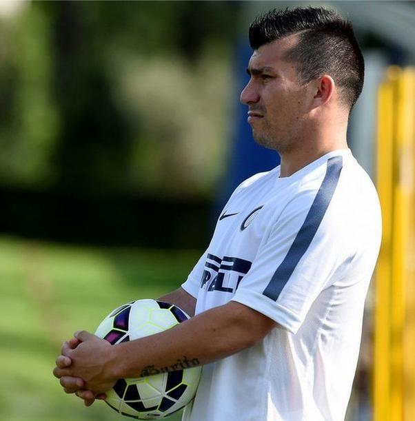 Gary Medel con el Inter