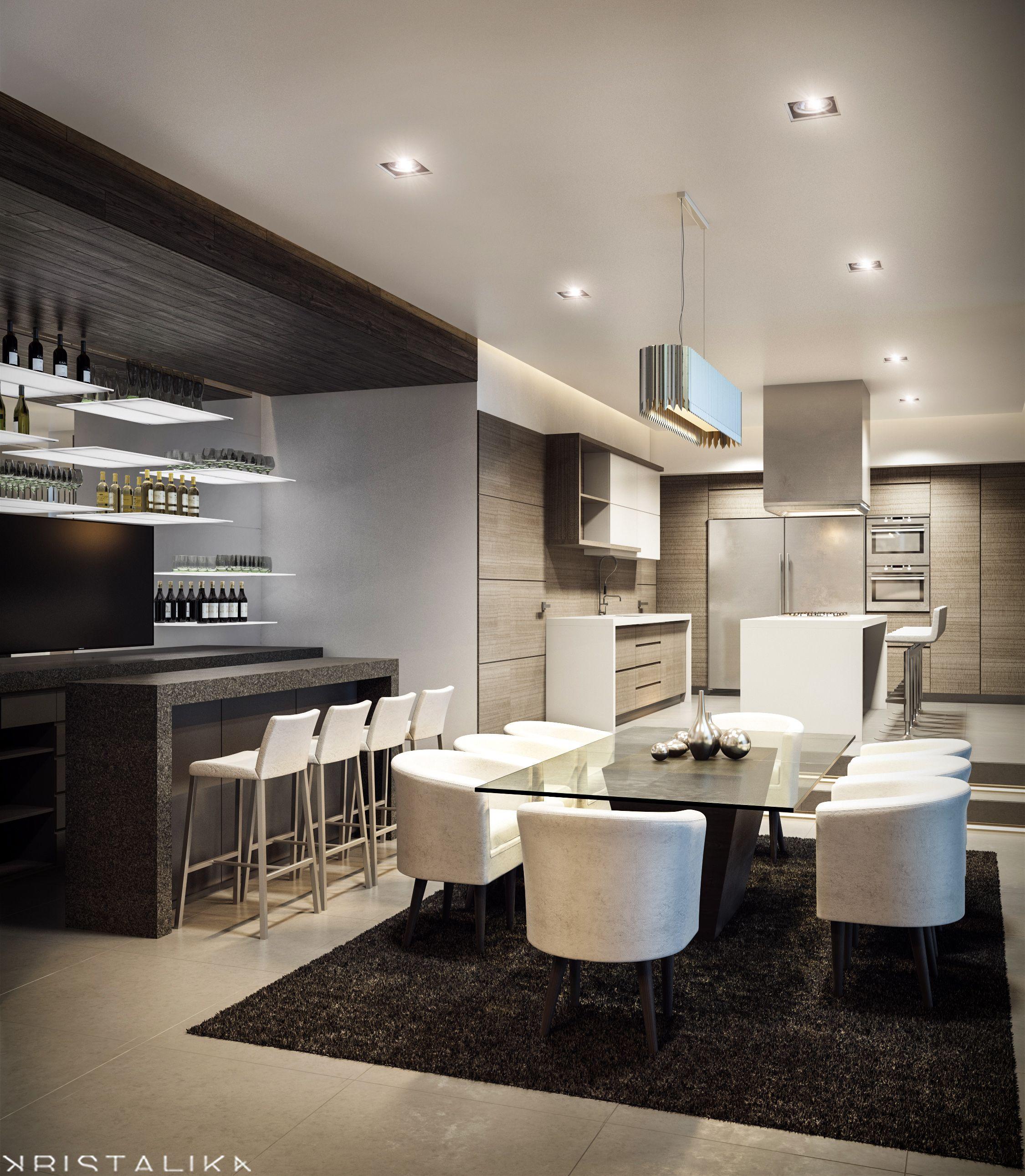 Pin de kristalika en kristalika arquitecture and interior for Interior cocinas modernas