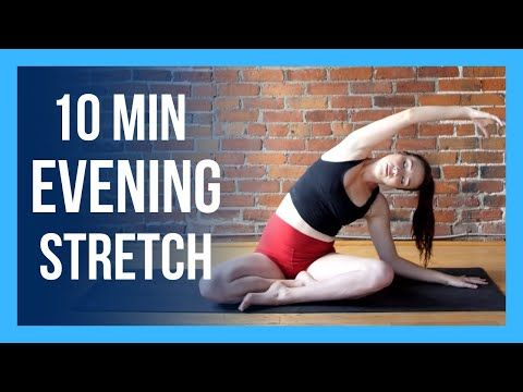 10 min evening yoga stretch  bedtime yoga for beginners