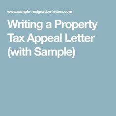 f072f7606f2cd2bad73222eab7f48f98 Tax Appeal Letter Template on