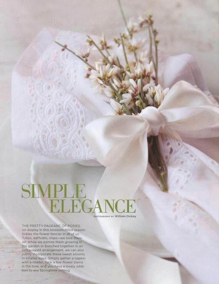 Yes simple elegance