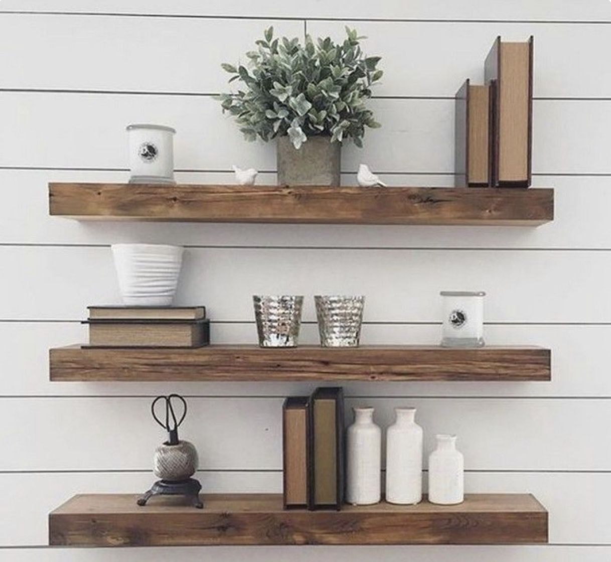 Set Of 2 Floating Shelf 35 Deep X 15 Thick With Etsy Deep Etsy