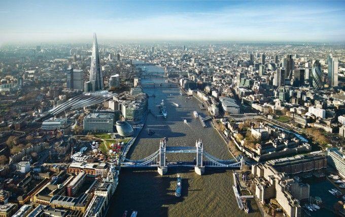 The Shard in London: London Bridge Tower