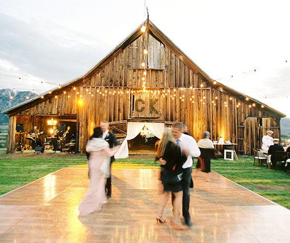 Lake Wedding Ideas: California Ranch Wedding, Country Style