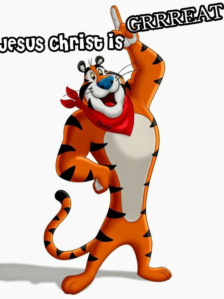 Tony The Tiger Meme : tiger, Bonds, Classic, Cartoon, Characters,, Tiger, Drawing,, Animals