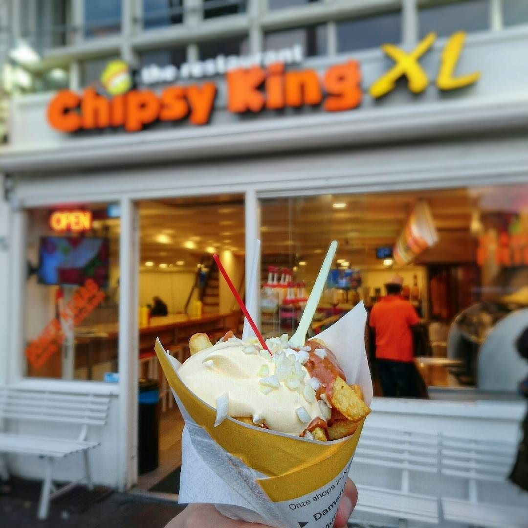 The Most Underrated Fries Of Amsterdam. #ChipsyKing