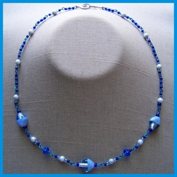 Denim Diamonds Necklace $10