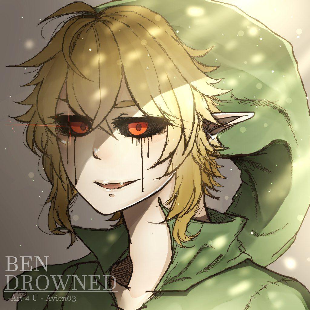 Диалоги | BENZO DA GEI DROWNED!!! | Ben drowned, Creepypasta