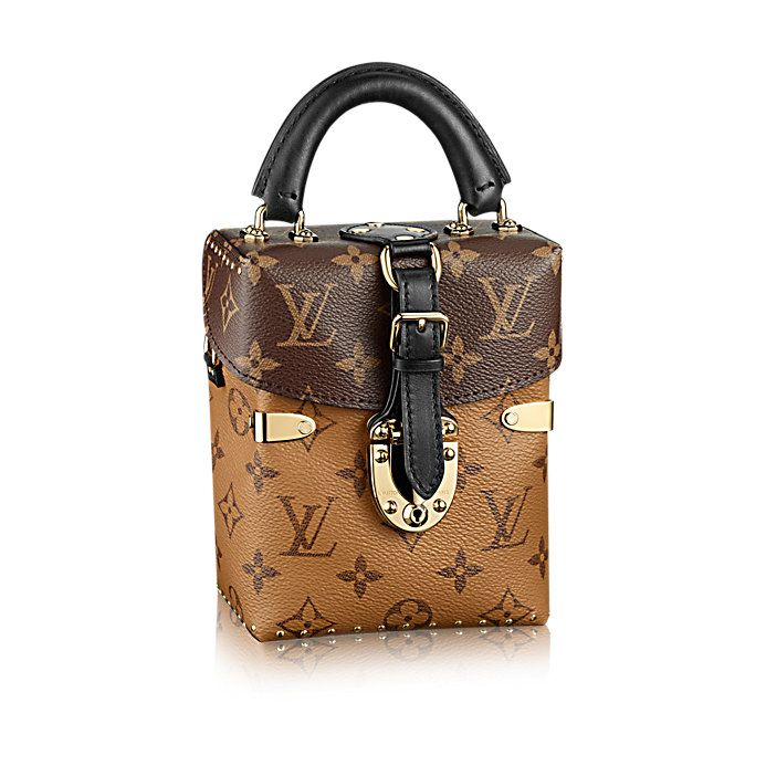 18f5b0803e Discover Louis Vuitton Camera Box  The cutest bag of the Fall Winter 2016  show  the Camera Box in Monogram and Monogram Reverse canvas is as  fashionable as ...