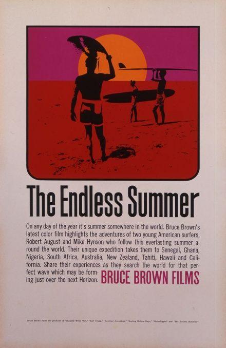 0de1d039e125 1966 The Endless Summer Original US Special Poster ( 2365.60 ...