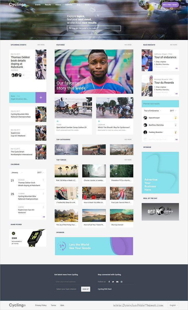 Cycling Event Blog Html Template Event Planning Tips Event Management Event