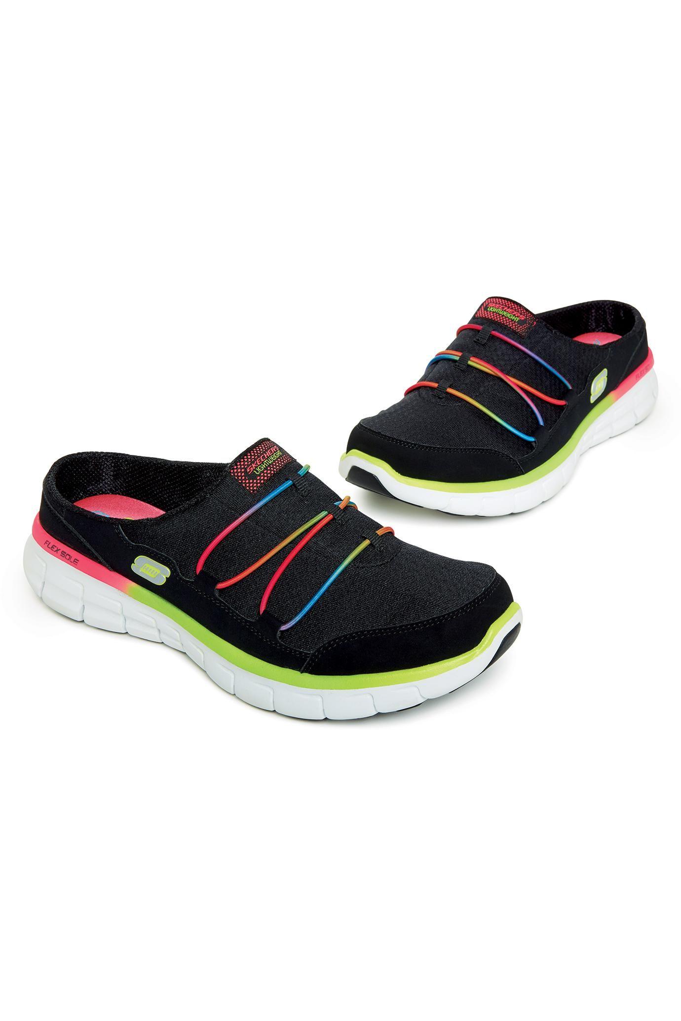 Walking Sneakers With Memory Foam By Skechers | metrostyle