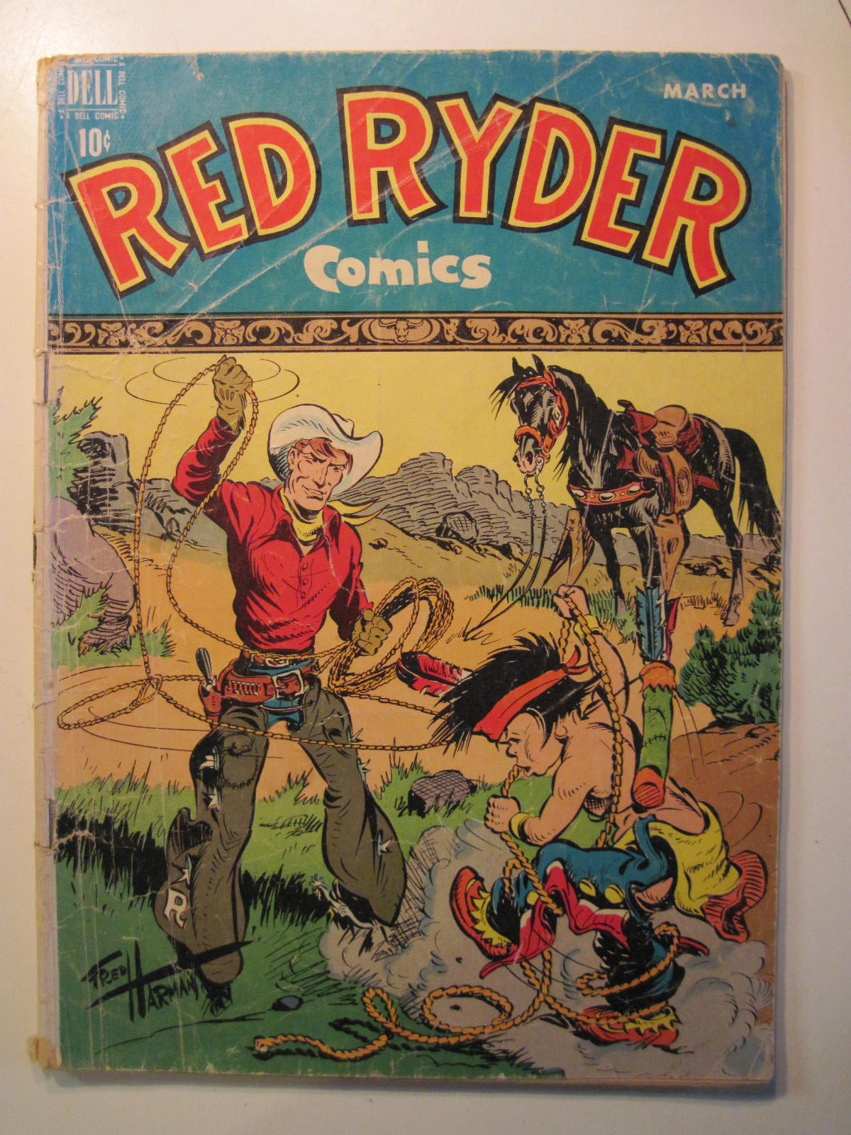 Red Ryder #68 mar1949