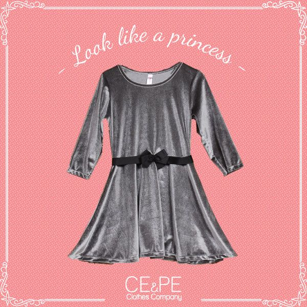 Adorable Vestido con detalle de lazo  #outfit #kids #teens #fashionkids #kidsclothing #indumentaria #coolkids . CE&PE Clothes Company