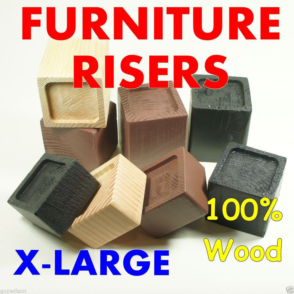 Furniture Risers X Large Colors And Sizes Raise Lift Bed  # Duty Muebles Para El Hogar