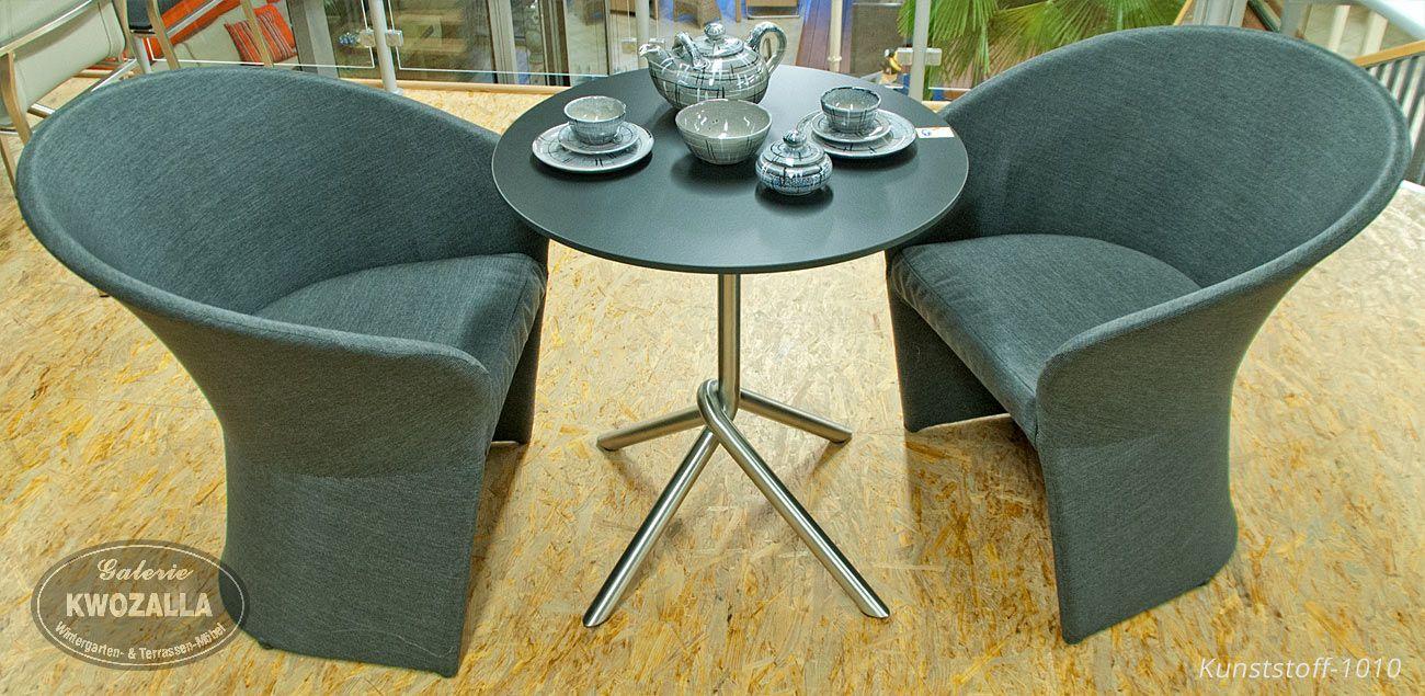 kleine sitzgruppe sessel tisch f r balkon oder. Black Bedroom Furniture Sets. Home Design Ideas