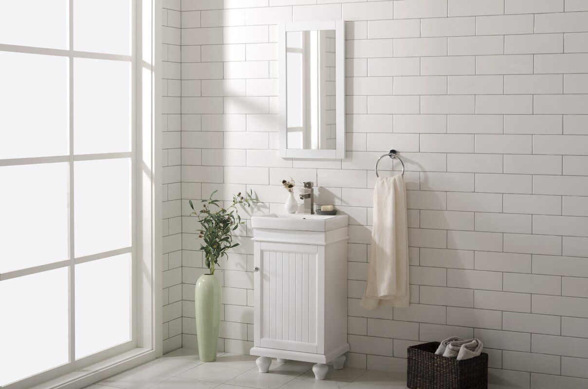 Gros 17 Single Bathroom Vanity Set Single Bathroom Vanity Vanity Set Single Sink Vanity