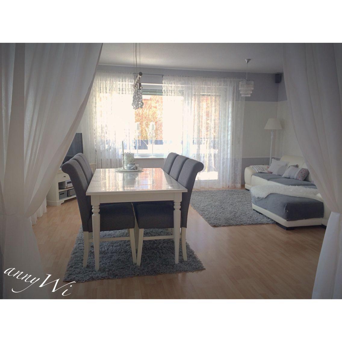 Home haus wohnzimmer esszimmer livingroom annywi shabby for Deko wohnzimmer esszimmer