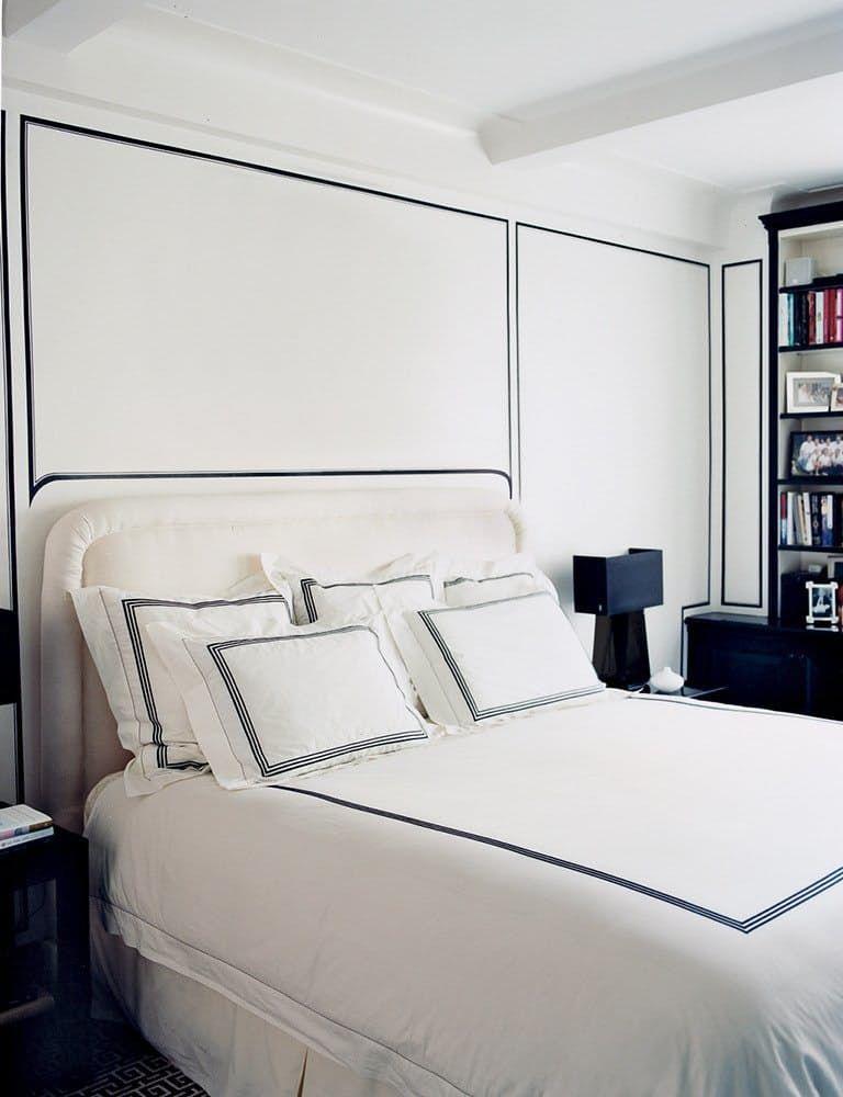 Best 20 Beautiful Black White Bedrooms Black White Bedrooms White Bedroom White Rooms 400 x 300