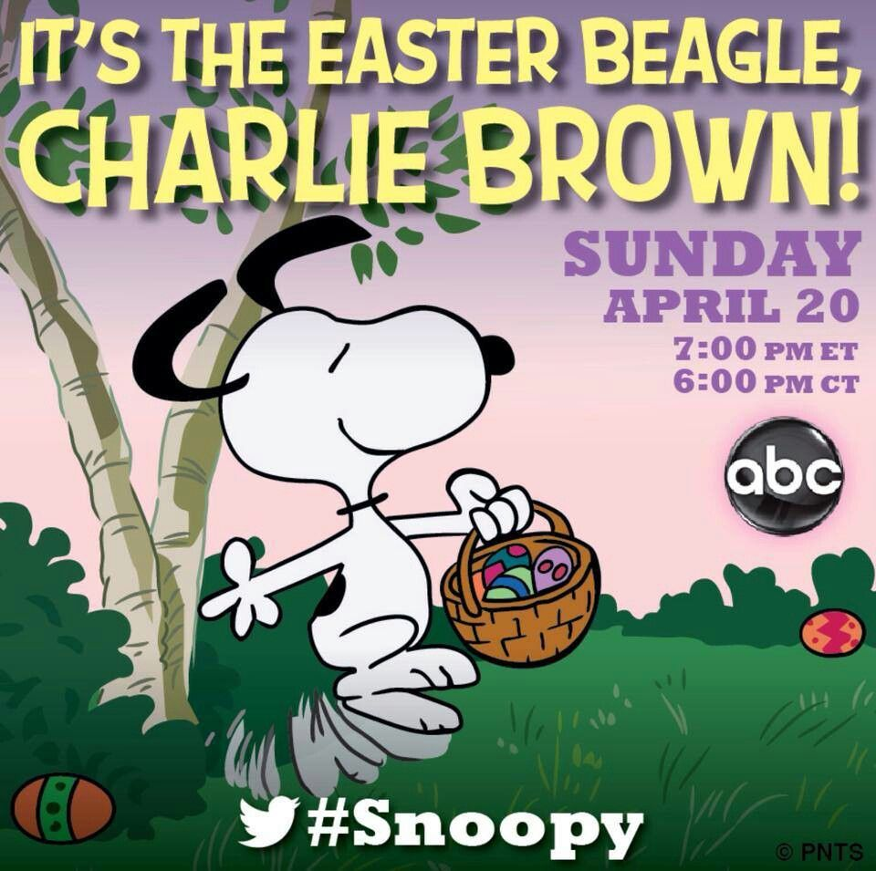 Easter Beagle Easter Beagle Easter Beagle Charlie Brown Snoopy