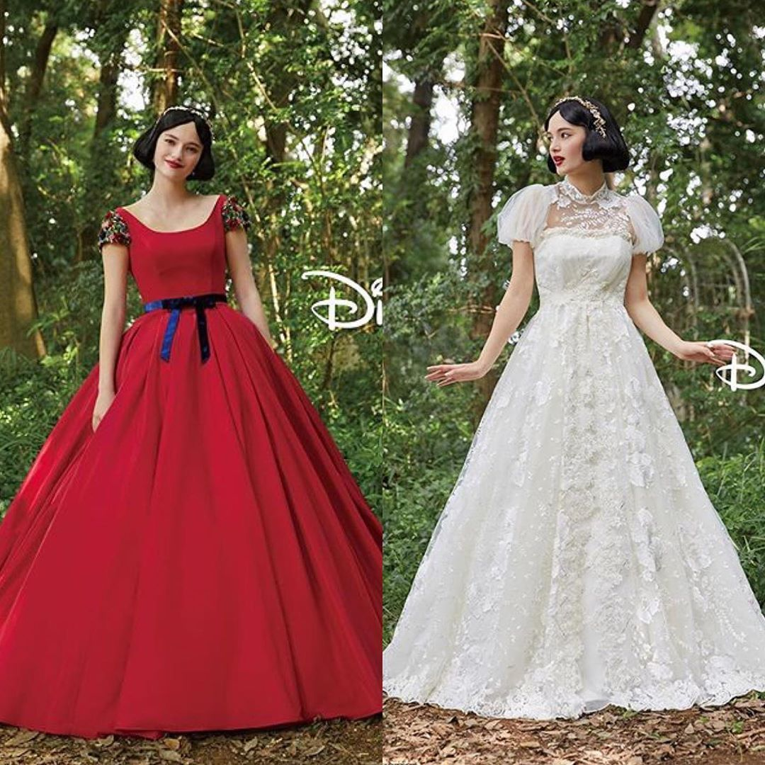 Which Disney Princess Wedding Gown Should You Get Married In Snow White Wedding Dress Wedding Gown Gallery Disney Princess Wedding [ 2048 x 1296 Pixel ]