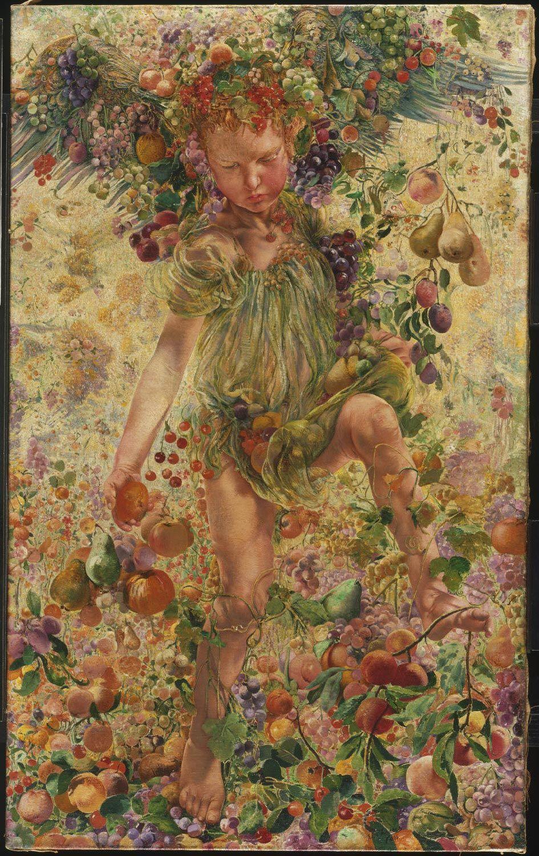 Leon Frederic, The Four Seasons: Fall, 1894