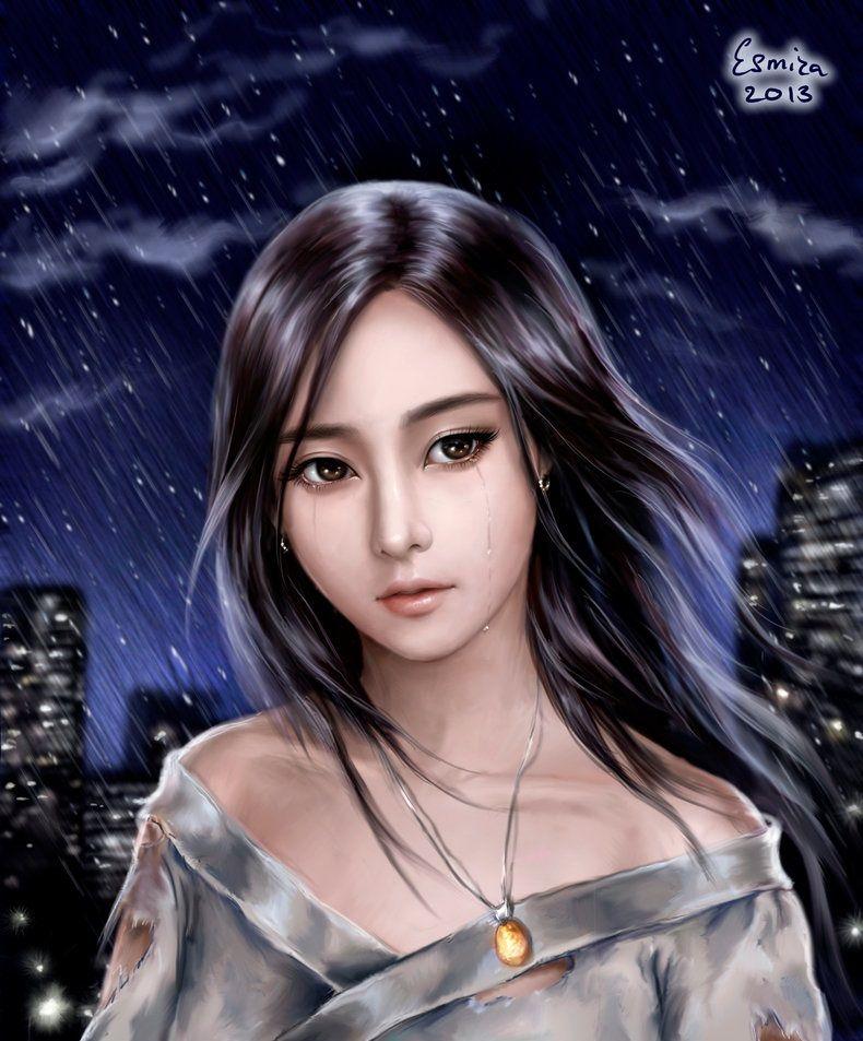 Night Rain by Esmira