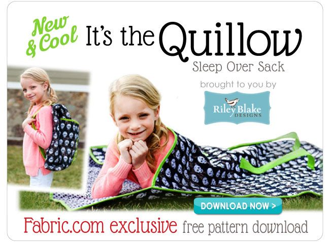 Free Pattern Download The Quillow Sleep Over Sack Awesomebut