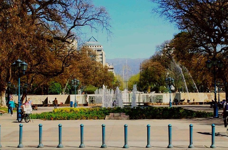 Plaza Independencia, Mendoza, Argentina.