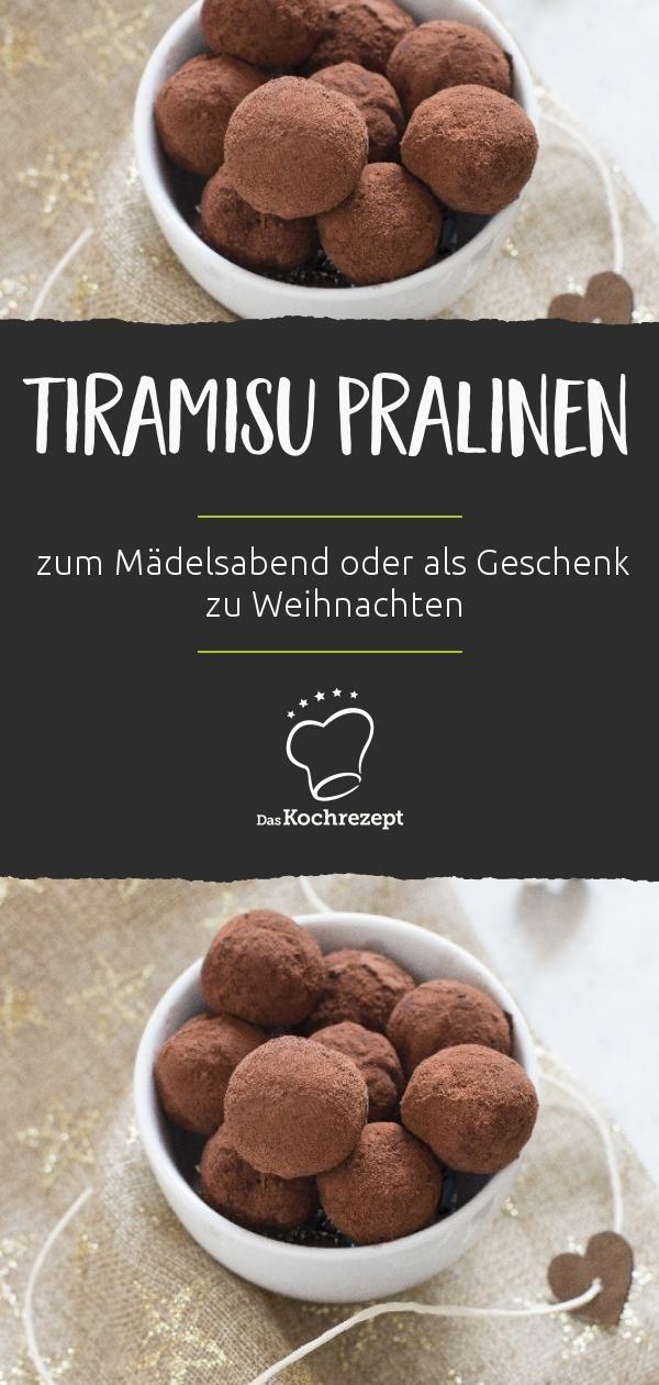 Tiramisu-Pralinen