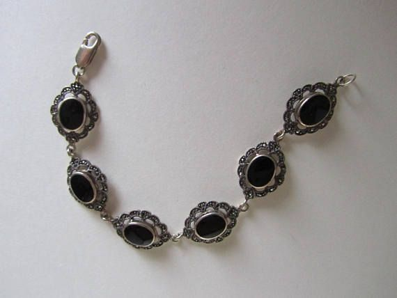 jewelry ss onyx vintage
