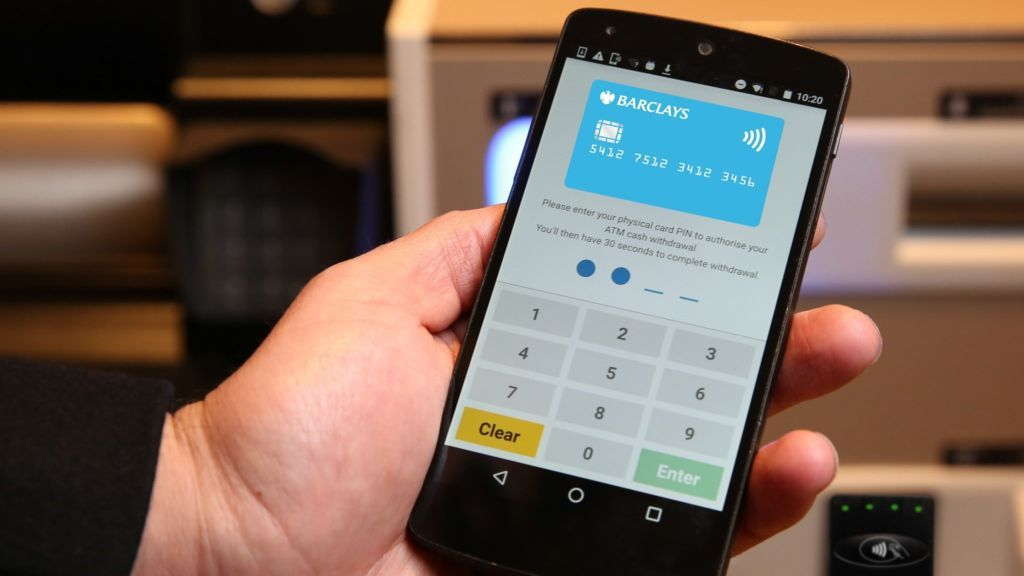 Barclays tests smartphone cash withdrawals Smartphone