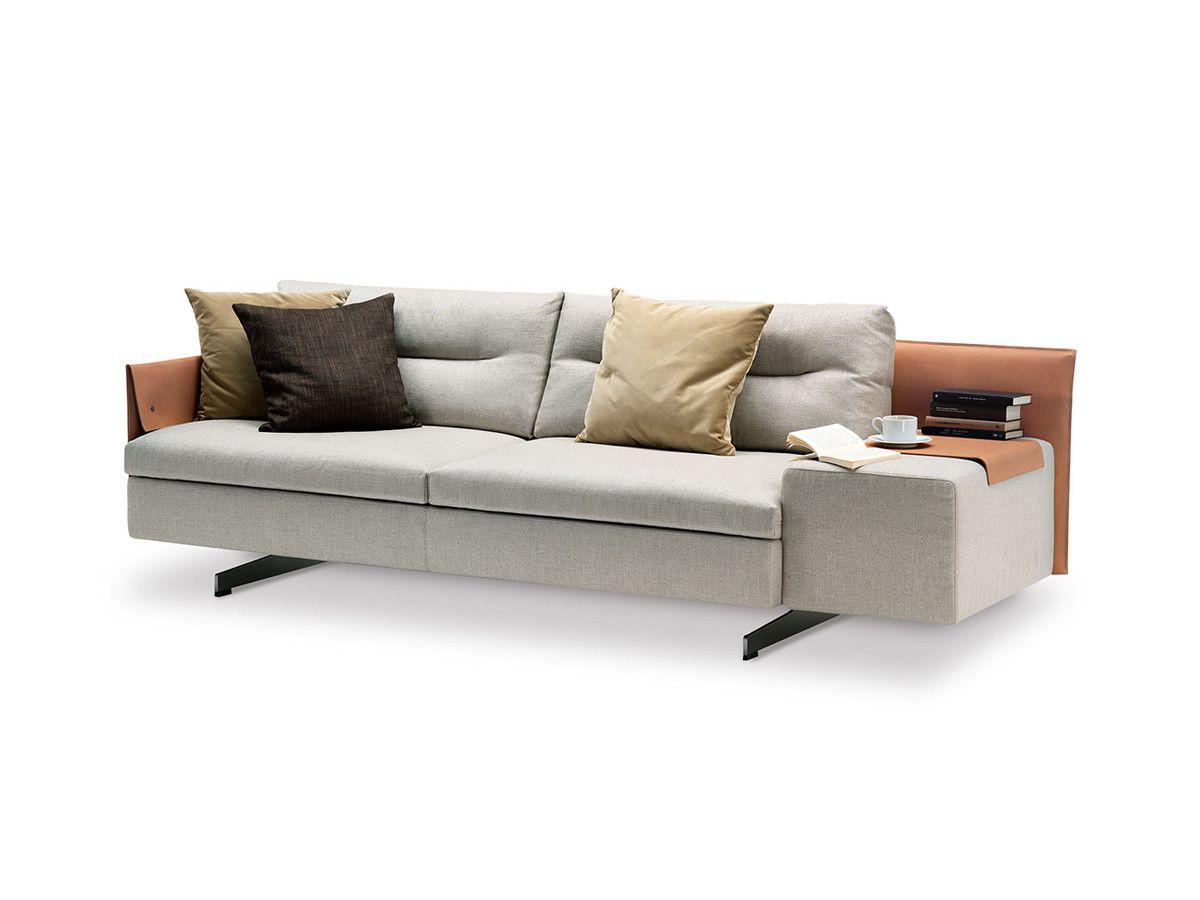 Poltrona Frau Grantorino Two Seater Sofa Asymmetric