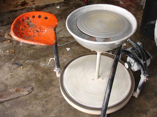 Randall Pottery Wheel Electric Clay Potters Kick Wheel