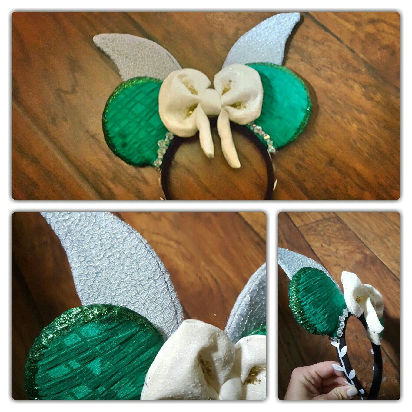 Tinkerbell inspired ears #tinkerbell #diyears