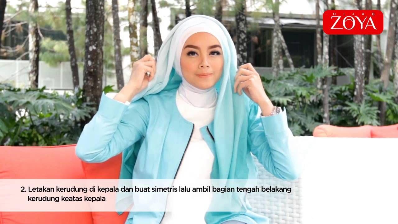 Tutorial Hijab Segi Empat Zoya Ragam Muslim Hijab Tutorial Hijab How To Wear Hijab