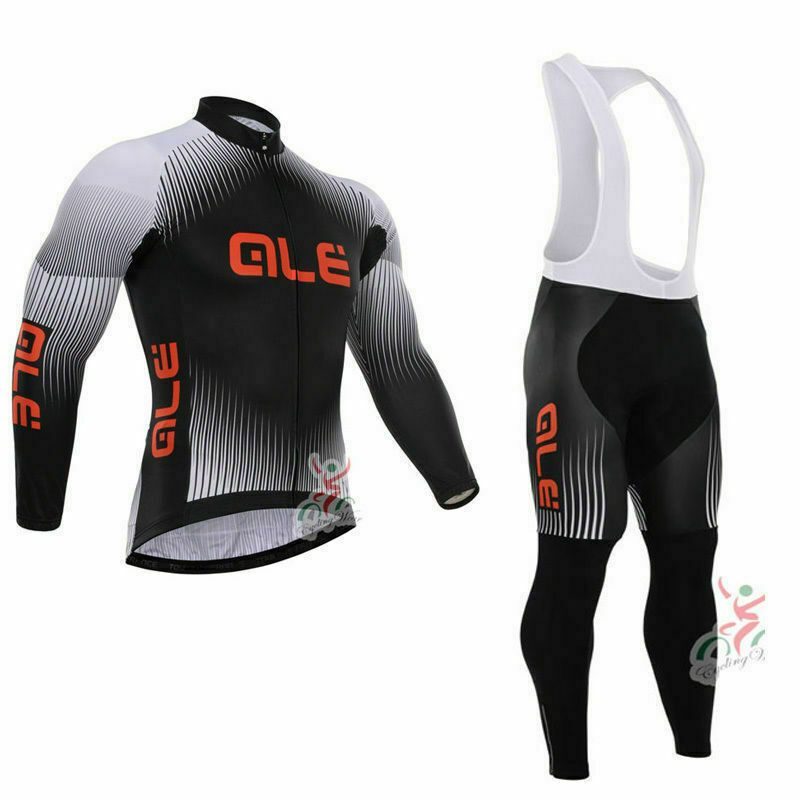 Sponsored Ebay Mens Cycling Long Sleeve Jersey Bib Pants Set Cycling Bib Pants Cycling Jerseys Cycling Outfit Bike Clothes Bicycle Clothing